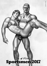 Sportsmen by Tom of Finland 2017 by Wall Book (English)