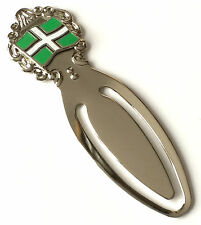 County Devon Flag Enamel Crested Bookmark & Gift Bag (T960)