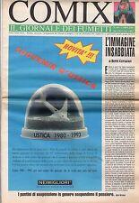 riviste fumetti- COMIX IL GIORNALE DEI FUMETTI Anno 1993 Numero 69