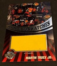 MARTIN TRUEX JR 2009 Wheels STOP & GO SWATCHES Pit Stacker SWATCH Relic #d /120