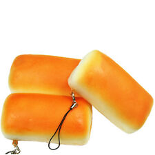 1X Jumbo Squishy Bread Soft Buns Scented Phone Strap Charms Slow Rising