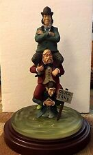 QUICKSAND Haunted Mansion Stretch Painting Figure #2 Statue Figurine Disney