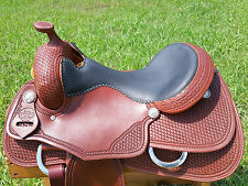"16"" Spur Saddlery Reining Cowhorse Saddle (Made in Texas) Reiner"