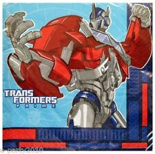 TRANSFORMERS PRIME LARGE NAPKINS (16) ~ Birthday Party Supplies Dinner Luncheon
