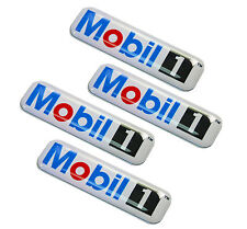 4 Domed Stickers Decals Auto Moto Tuning Car Motorsport Mobil 1 Oil Race Rally