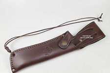 "SUPERB GERMAN PUMA LEATHER KNIFE SHEATH FIT FOR ""WHITE HUNTER"" COLLECTORS KNIFE"