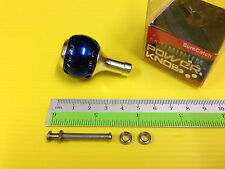 Surecatch Small Size Blue Color Handle Round Knob for Daiwa Spinning Reels.