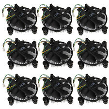 Lot 10x CPU Heatsink Fan Cooler 12V 4Pin For Intel Core2 LGA 775 To 3.8G