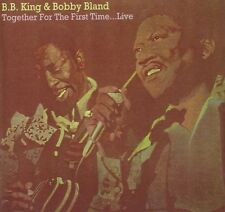 B.B. King & Bobby Bland Together For The First Time...Live CD NEW SEALED Blues