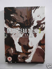 METAL GEAR SOLID 3 LIMITED EDITION for PLAYSTATION 2 'VERY RARE & HARD TO FIND'