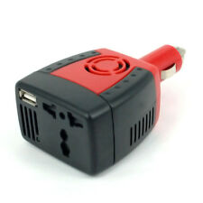 Car 12V DC to 220V AC USB Port 5v 2.1a 150W Inverter/Adapter/Charger Laptop Mobi