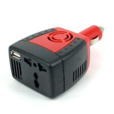 Car 12V DC to 220V AC USB Port 5v 2.1a 150W Inverter/Adapter/Charger Laptop Mobi