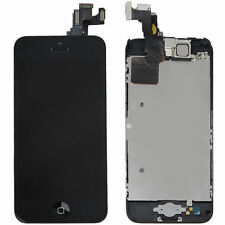 LCD Lens Touch Screen Disp Digitizer Assembly Replacement for iPhone 5C Black