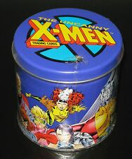 1992 Uncanny X-Men SEALED Collector's Tin Set w/ Power Ratings Card, Marvel