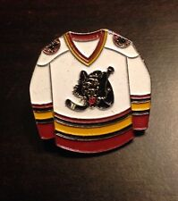 AHL Chicago Wolves White Jersey Pin, Badge, Lapel, Hockey