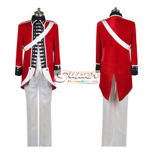 APH Hetalia: Axis Powers England Britain/Arthur War Uniform Cosplay Costume