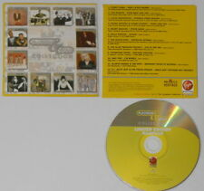 Perry Como, Tito Puente, Louis Armstrong, Frank Sinatra U.S. promo cd card cover