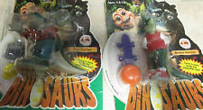 2 HASBRO DISNEY DINOSAURS TV BABY SINCLAIR ACTION FIGURE NEW Robbie EARL