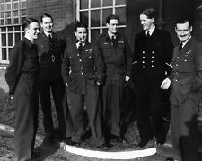 """Guy Gibson and Crew The Dambusters 10"""" x 8"""" Photograph"""