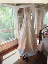 EUC $1,200 Haute Couture By Maggie Sottero Wedding Dress Size 6, 8