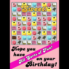 Liquorice Allsorts Candy Crush - All Sorts of Fun on your Birthday