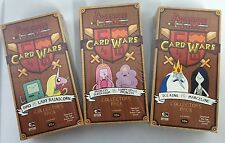 Adventure Time Card Wars COLLETOR'S PACK SET : ICE KING, BMO & PRINCESS