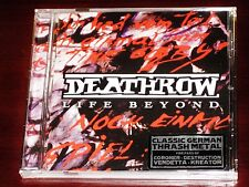 Deathrow: Life Beyond CD 2016 Reissue Tribunal / Divebomb Records DIVE110 NEW