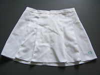 FRED PERRY TENNIS SPORTS SKIRT MEDIUM LARGE W30 in. WHITE BLUE VINTAGE ITAX089