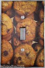 'New!' LARGER SIZE! Chocolate Chip Cookies-Original Picture! -Light Switch Cover