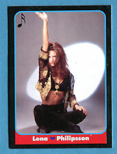 LE BELLISSIME -Masters Cards 1993 -n. 198 - LENA PHILIPSSON - MUSICA -New