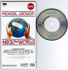 "MICHAEL JACKSON Heal The World TOUR edition JAPAN 3"" CD ESDA7118 UNSNAPPED FreeS"
