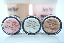 3 pc Sample | Ben Nye Powder Pretty Pink, Super White, & Fair | 10gr jar Samples