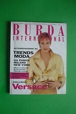 BURDA international Fashion Autunno Inverno 1994 Moda + cartamodello