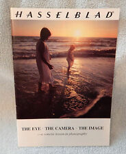 Hasselblad The Eye The Camera The Image Photography Brochure 1981