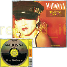 "MADONNA ""TIME TO DANCE"" RARE CDS 3 TRACKS 1989 MADE IN FRANCE"