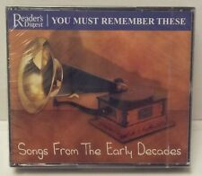 Reader's Digest SONGS FROM THE EARLY DECADES. BRAND NEW & SEALED.