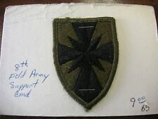 PATCH 8th Field Army Support Command  - Patch #27