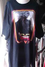 New with Tags Nerd Block Black Street Fighter V 2XLT Black Ken Masters 2X tshirt