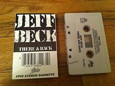 1980 JEFF BECK There & Back Cassette Tape Blues Rock Classic Space Boogie Pump