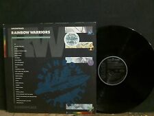 GREENPEACE RAINBOW WARRIORS  Various  DBL  LP  U2  REM  Sting   Lovely copy!