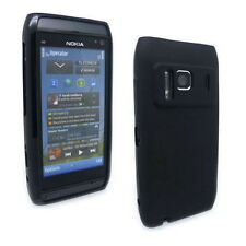 NEW Black Jelly Case Cover Gel Skin for Nokia N8 + SP