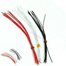 Black White Red 30Pcs 22AWG copper Guitar Pickup Hookup Wire Lead Cable 21cm New