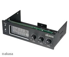 Akasa FC Trio 3 Channel Fan Controller with Temperature Monitoring