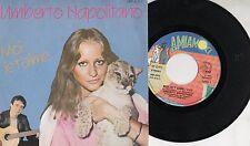 UMBERTO NAPOLITANO raro disco 45 giri MADE in ITALY  Moi je t'aime + Slow 1982