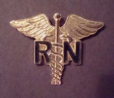 US ARMY RN REGISTERED NURSE  Hat Pin Lapel Pin
