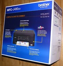 New Brother MFC-J480dw Wireless Duplex Color Inkjet All-in-One Printer