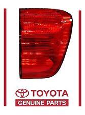 Genuine Toyota Sequoia 01-04  LEFT Rear Inner Tail Light Lamp  OEM OE NEW