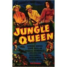 Jungle Queen  - Classic Cliffhanger Serial Movie DVD Edward Norris