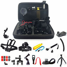 30 en 1 pole head chest mount strap GoPro Hero 2 3 4 5 caméra accessoires set kit