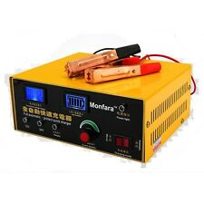 12V/24 200AH Electric Car Battery Charger Pulse Repair Lead Acid Battery Charger